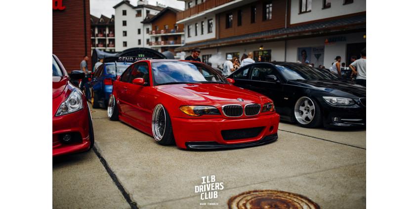 BMW e46 на пневмоподвеске от Aceoface