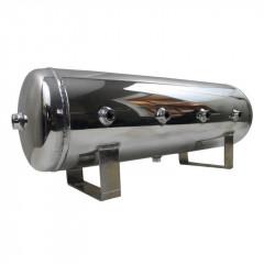 Ресивер алюминиевый 15 литров полированный